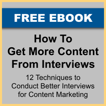 How To Get More Content From Interviews