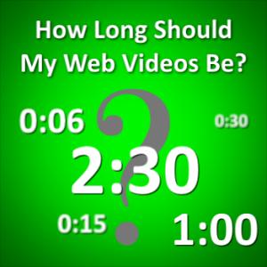 Medical Web Video Length Rule